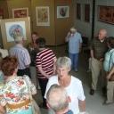 Opening expositie beneden